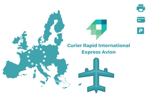 Curier Rapid Austria Express Avion