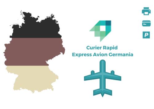 Curier Rapid Germania Express Avion