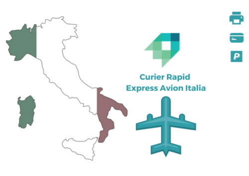Curier Rapid Italia Express Avion