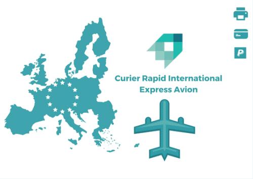 Curier Rapid Croatia Express Avion