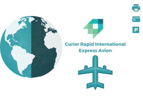 Curier Rapid Indian Subcontinet /Africa Express Avion