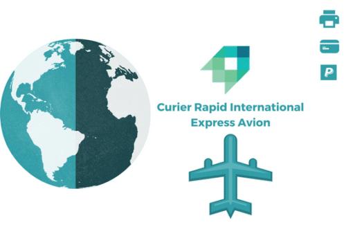 Curier Rapid Cipru Express Avion