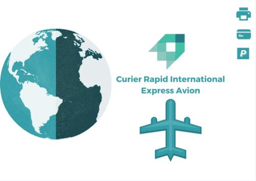 Curier Rapid Elvetia Express Avion