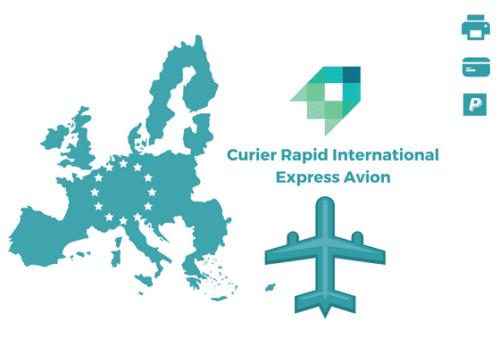 Curier Rapid Estonia Express Avion