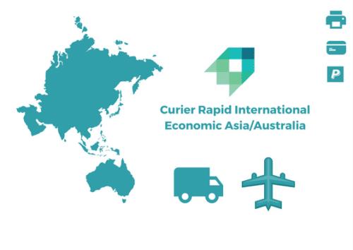 Curier Rapid Economic Asia Australia